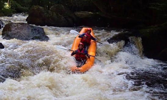Enjoy Mini Rafting In Chalaux, Bourgogne Franche-comté