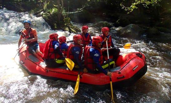 Enjoy Rafting Trips In Chalaux, Bourgogne Franche-comté