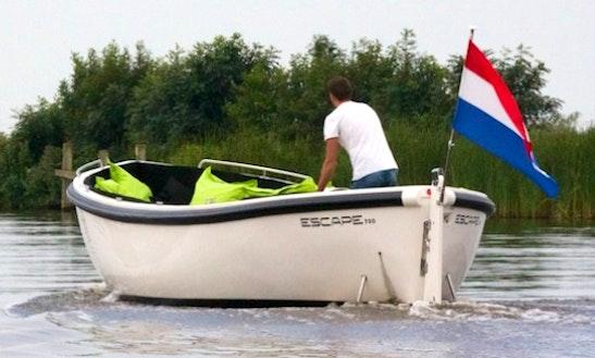 Rent 23' Escape 750 Sloep Dinghy In Grou, Netherlands