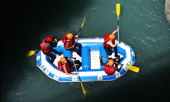Enjoy Rafting Trips In Barcelonnette, Provence-alpes-côte D'azur