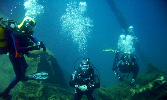 Enjoy Diving Trips And Courses In Fréjus, France