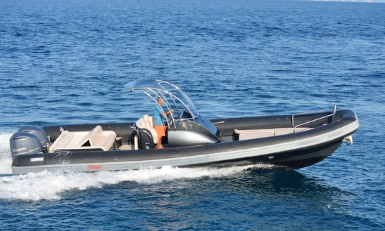 Sea Water Smeralda, Rib Rental, Available In All Ionian Islands