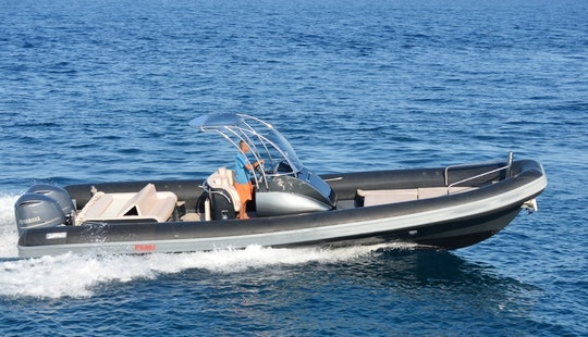 Sea Water Smeralda, Rib Rental, Available In All Ionian Islands