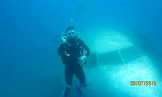 Sunken Plane Dive and Other Dives in Kusadasi