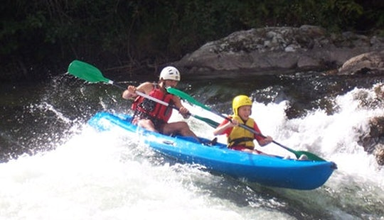 Double Kayak Guided Tours In Bouan, France