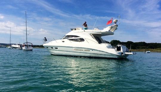 "Skippered Charter On ""oceanique"" Sealine 42 Luxury Motor Yacht In Lymington"