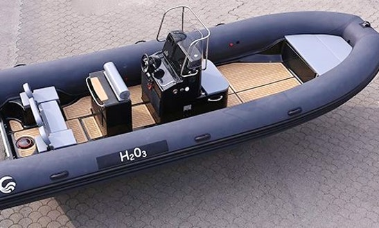 Charter 25' Capelli Tempest 750 Rigid Inflatable Boat In Knokke-heist, Belgium
