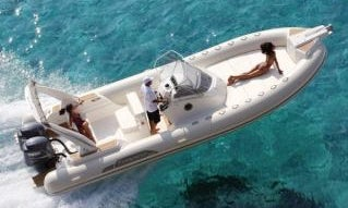 Charter 28' Capelli Tempest 850 Rigid Inflatable Boat in Knokke-Heist, Belgium