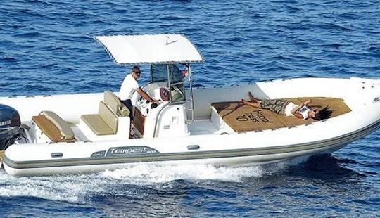 Charter 29' Capelli Tempest 900 Rigid Inflatable Boat In Knokke-heist, Belgium