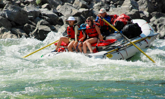 Rafting In Mccall, Idaho