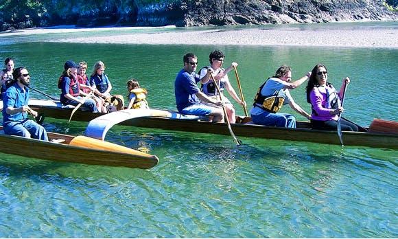Canoe Rental In Mendocino, California