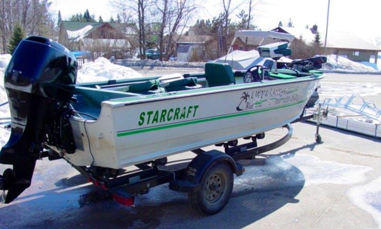 16' Starcraft Boat Rental in Crooked Lake Township, Minnesota