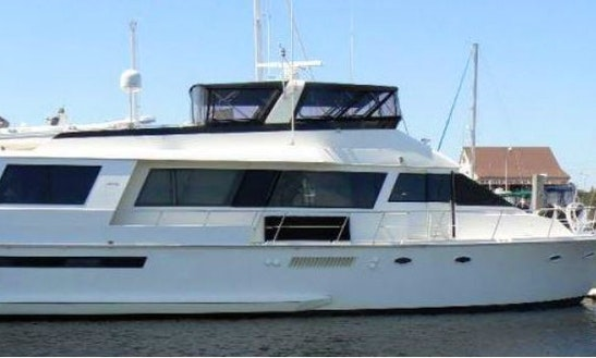 63' Viking Motor Yacht (up To 12 Guests)
