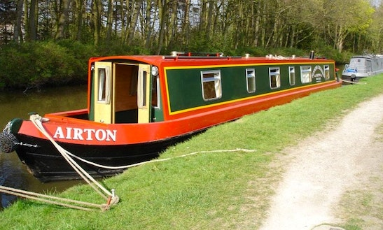 Hire 57' Airton Canal Boat In Skipton, England