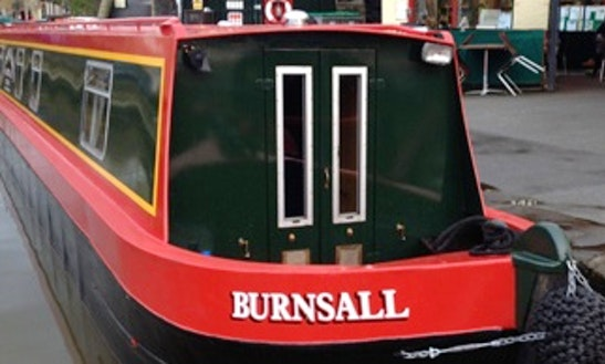 Hire 57' Burnsall Canal Boat In Skipton, England