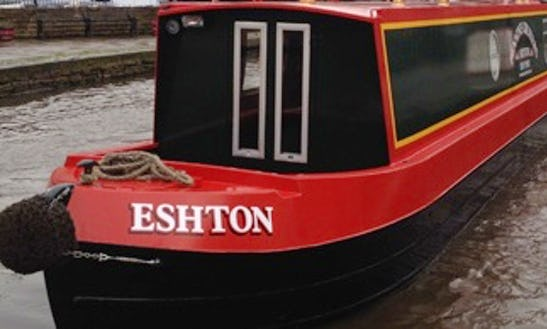 Hire 57' Eshton Canal Boat In Skipton, England