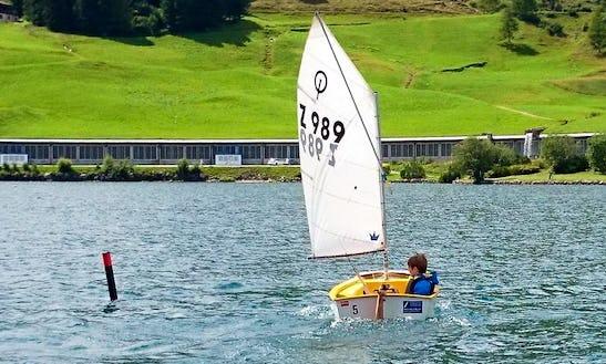 Rent 8' Sailing Dinghy In Davos Dorf, Graubünden
