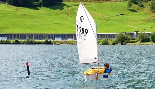 Rent 8' Sailing Dinghy And Sailing Lesson In Davos Dorf, Graubünden