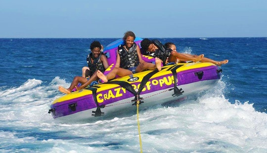 Enjoy Crazy Octopus Rides In Ouranoupoli, Chalcidice