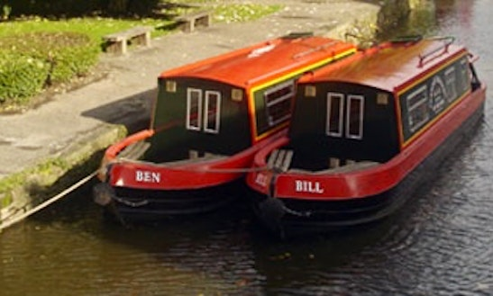 Hire Ben Canal Boat In Skipton, England