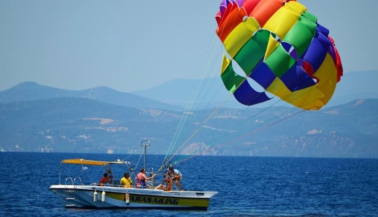 Enjoy Parasailing In Ouranoupoli, Chalcidice