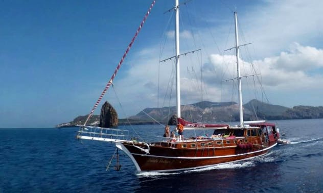 Charter 79' Caicco Latife Sultan Gulet in Rome, Italy