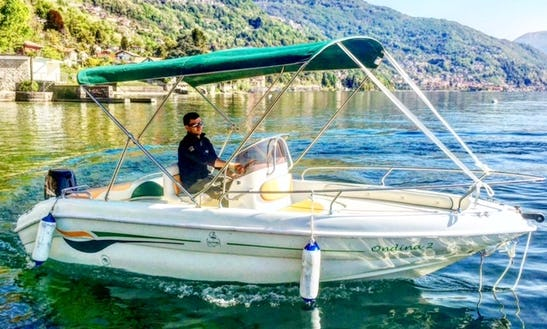 Rent Open Jaguard Center Console In Oggebbio, Italy