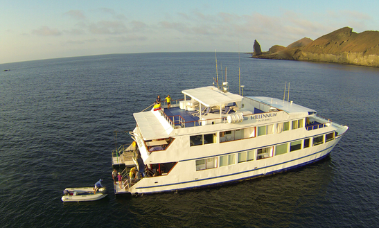 Millennium Catamaran In Galapagos, Ecuador