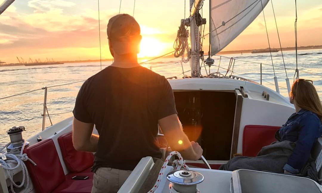 "Sailing Charter On 37ft ""Sunset"" Cruising Monohull In New York, NY"