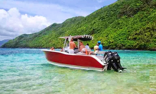 Rent 27' Center Console Boat In Las Terrenas, Dominican Republic