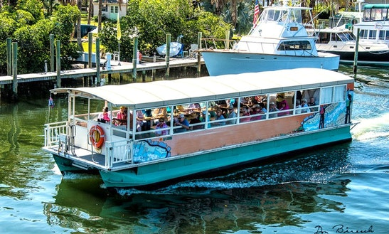 Enjoy Palmetto, Florida On Pontoon Boat