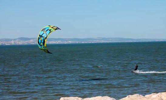 Enjoy Kitesurfing Lessons In Setubal, Portugal