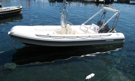 Rent 16' Novamarine Rigid Inflatable Boat In Lingua, Sicilia