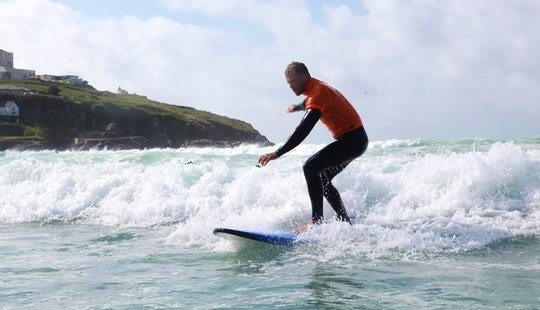 Surf Lessons In Newquay, Cornwall