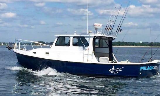 Norwalk Fishing Charter On 32ft
