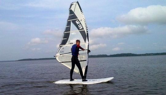 Enjoy Windsurfing Lessons In Burtnieki, Latvia