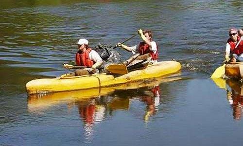 Vydra Double Kayak Rentals in Loket, Czechia