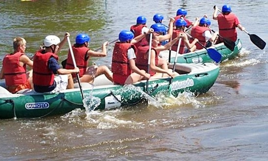 Enjoy Rafting In Loket, Czechia For 4 Pax