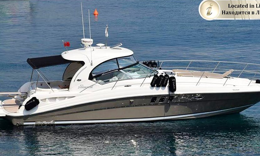 Charter 45' Sea Ray Motor Yacht in Limassol, Cyprus