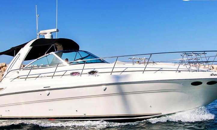 Charter 46' Sea Ray 455 Motor Yacht in Larnaca, Cyprus