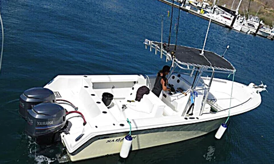 Enjoy Fishing In Playas Del Coco, Costa Rica On Center Console