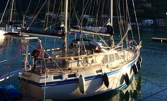 Charter 43' Nauticat Cruising Monohull In Ameglia Liguria, Italy