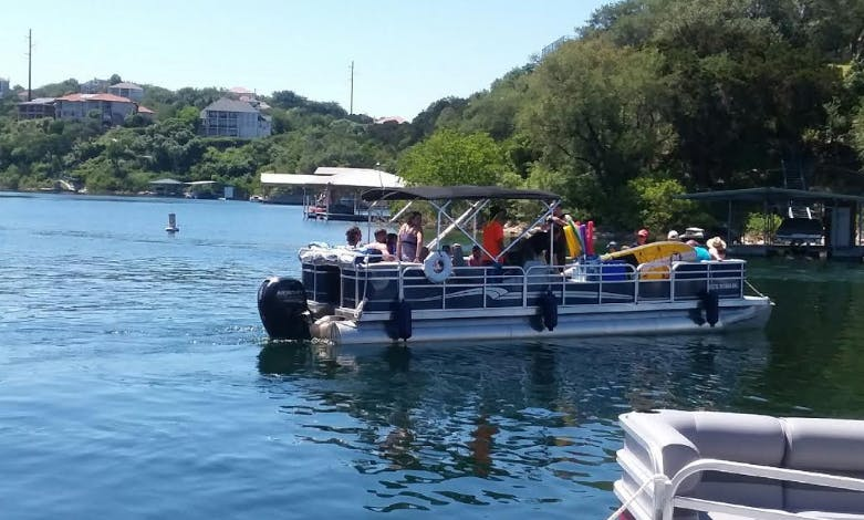 Rent 30' Pontoon/Party boat In Austin, Texas