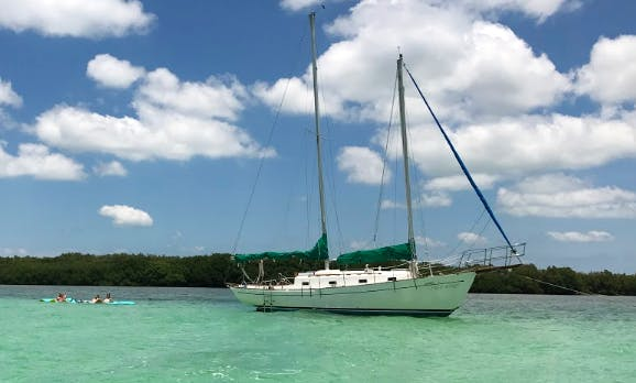 "Sailing Charter On 37ft ""Free Spirit"" Cruising Monohull In Key West, Florida (With Captain Only)"