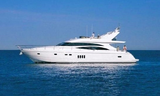 Charter 65' Princess Power Mega Yacht In Limasol, Cyprus
