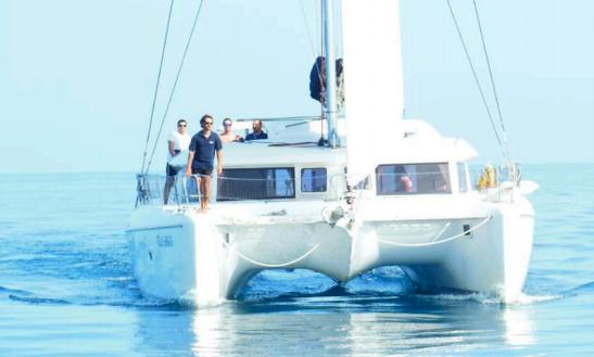 Charter 42' Lagoon Cruising Catamaran In Sicily, Italy
