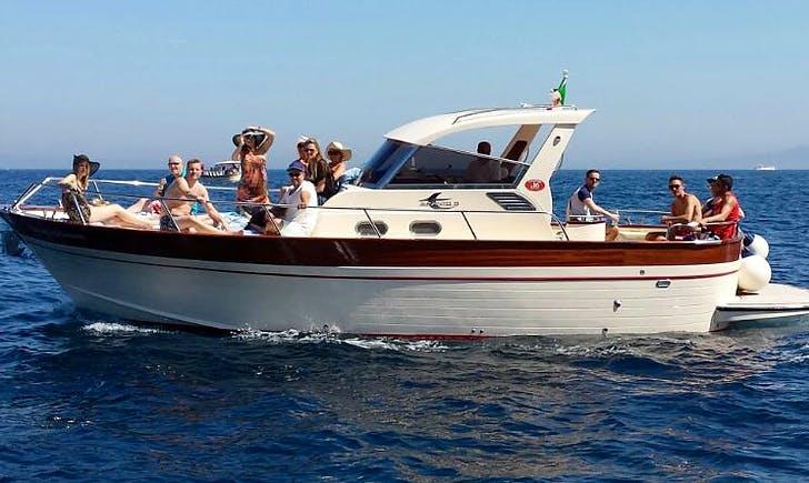 """Charter """"Marina del Cantone"""" Motor Yacht in Campania, Italy"""