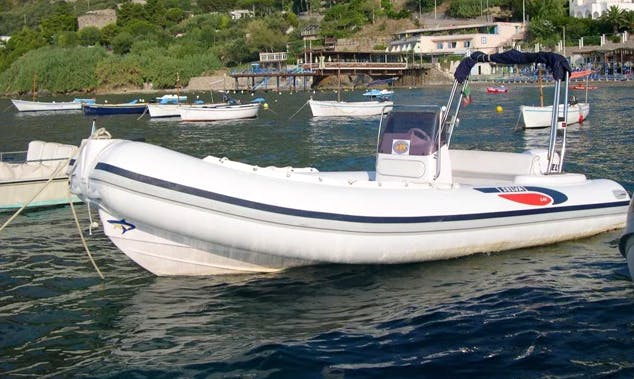 Rent 18' Rigid Inflatable Boat in Campania, Italy