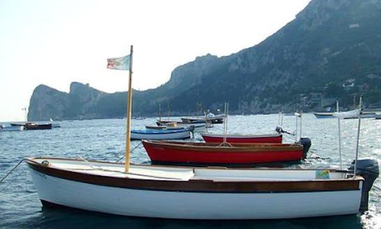 Rent 16' Inboard Propulsion In Campania, Italy