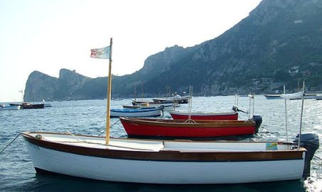Rent 16' Powerboat in Campania, Italy